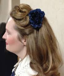 hair style for thick hair for 40s 1930s and 1940s hairstyles for long hair