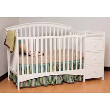 Changing Table And Crib Modern Crib With Changing Table Attached Designs Amazing Baby