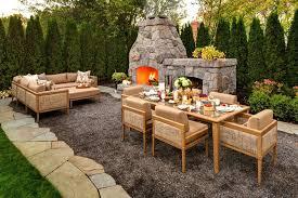 Backyard Patio Landscaping Ideas Garden Patio Designs And Ideas Lively Romantic Patio Design