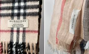 check vs plaid how to spot a real burberry scarf