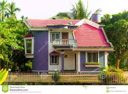 beautiful indian home designs stock photo image 68980934