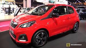 peugeot car 2014 2015 peugeot 108 allure 1 0l exterior and interior walkaround