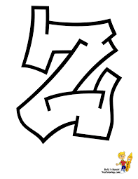 graffiti abc coloring pages coloring page for kids kids coloring
