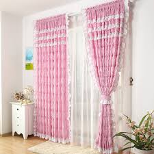 Ruffled Curtains Pink Curtain Elegant Decor Ruffled Pink Curtains Ideas Ruffle
