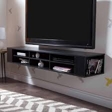 tv stands avf wall mounted tv stand glass shelving system with