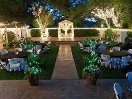 bakersfield wedding venues backyard wedding venues lebron