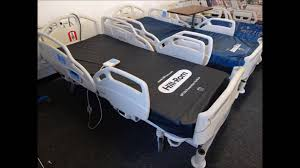 Hill Rom Hospital Beds Refurbished Hill Rom Careassist Hospital Bed Youtube