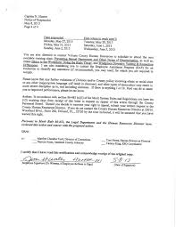 best photos of notice of demotion letter sample audit notice