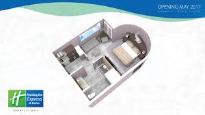 photos of the holiday inn express suites in panama city beach room rendering of the holiday inn express and suites in panama city beach