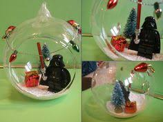 wars darth vader yoda ornament winter