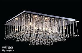 Square Chandelier Square Chandelier Drop Ceiling L Chandelier