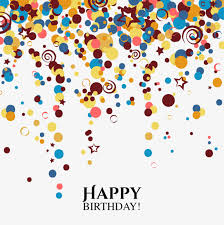 happy birthday ribbon birthday ribbons colored ribbon birthday happy birthday png image