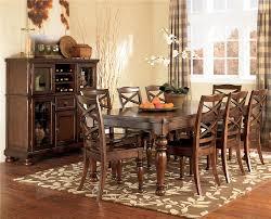Ashley Furniture Porter Bedroom Set by Ashley Furniture Porter 9 Piece Rectangular Extension Table U0026 Side