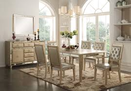9 Pc Dining Room Set by Mirrored Dining Room Set Traditional Dining Tables By Beyond