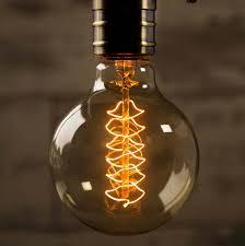 globe vintage style light bulb by william u0026 watson