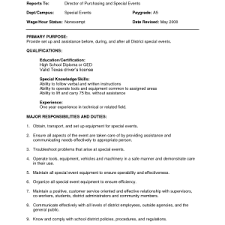 Resume Objective Examples General by Sample Resume Objective General Labor