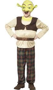 Shrek Boys Book Week Costume Kids Ogre Fancy Dress Shrek Costume