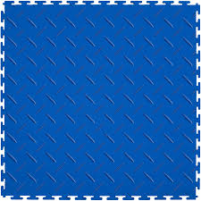 shop garage flooring at lowes com perfection floor tile 8 piece 20 5 in x 20 5 in dark blue diamond