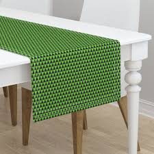 Lime Green Table L Half Inch Black And Lime Green On Minorca By Mtothefifthpower