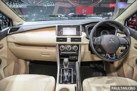 mitsubishi asx 2018 interior mitsubishi xpander coming to malaysia in 2018 ceo