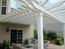 Exterior Shades For Patios Exterior Shade Pergola For Backyard Patio By Archadeck St Louis