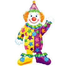 clown baloons 44 juggles the clown air walker balloon