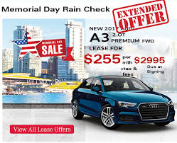 audi car offers audi memorial day special offers atlanta lease deals
