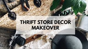 home decor thrift store thrift store home decor entryway home makeover youtube