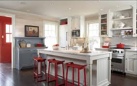 red kitchen backsplash kitchen design marvelous rustic red kitchen cabinets red kitchen