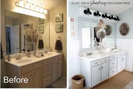creative bathroom makeover ideas diy decorating homescorner com
