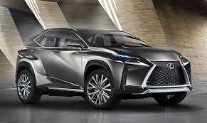 lexus christmas lexus nx suv previewed by radical concept photos 1 of 5