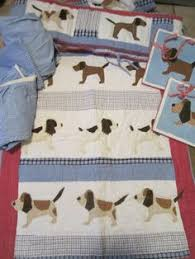 Puppy Crib Bedding Sets Fido Black Brown And Puppy 6 Crib Bedding Set