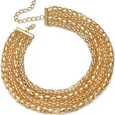 chunky gold necklace fashion images Cleopatra style fashion jewellery chunky gold collar necklace jpg