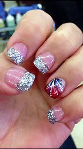 of july nail art pinterest