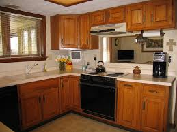 Kitchen Island Colors by Kitchen Paint Colors With Oak Cabinets And Black Appliances