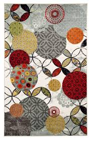 Multi Colored Shag Rug Amazon Com Mohawk Home Strata Give And Take Kaleidoscope Abstract