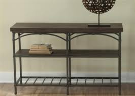 Metal And Wood Sofa Table by Round Coffee Table Metal And Wood Table Metal Trim Table Within