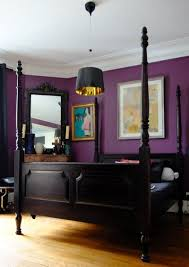 purple walls bedroom goursaud s bold playful home bedrooms room and master bedroom