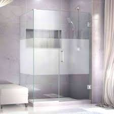 Frosted Glass Shower Door Frameless Unique Shower Doors Unique Glass Shower Door Designs Frosted
