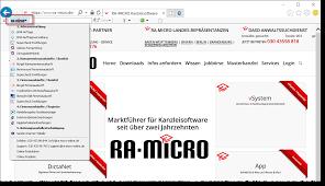Haas Und Kollegen Baden Baden Ra Micro Toolbar Ra Micro Kanzleisoftware