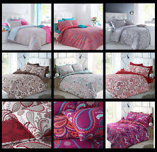 Paisley Single Duvet Cover Paisley Duvet Covers And Bedding Sets Ebay