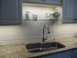 How To Choose Under Cabinet Lighting Kitchen by An Idea For Over Sink Shelf That Won U0027t Interfere With New Lighting