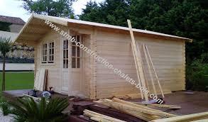 bureau de jardin en kit abri bois kit pas cher