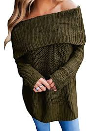 oversized shoulder sweater joycheer womens the shoulder sweaters wrap sleeve