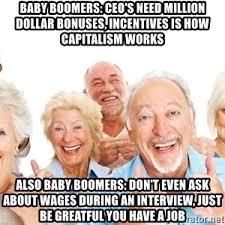 Baby Boomer Meme - baby boomers suck meme generator