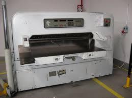 used polar mohr 155 emc paper guillotine exapro