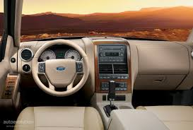 Ford Explorer Interior Dimensions Ford Explorer Specs 2005 2006 2007 2008 2009 Autoevolution