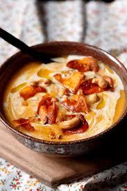 cuisiner avec du lait de coco velouté de patate douce au lait de coco et épices gourmandiseries