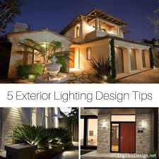 exterior home lighting design home exterior lighting tips that add beauty and security dig