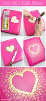 gold sharpie heart design on journal by club chica circle best
